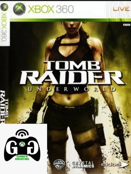 Tomb Raider Underworld-xbox 360-mídia Digital