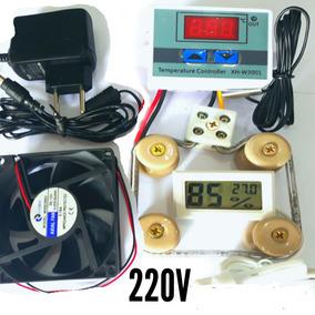 Kit Para Chocadeira Termostato Culer Motor Timer Medidor Umd