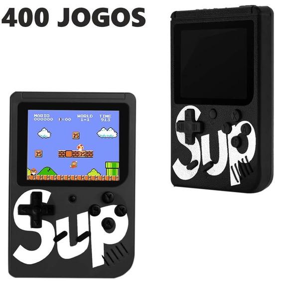 Video Game Portatil 400 Jogos Internos - Mini Game Sup Game.