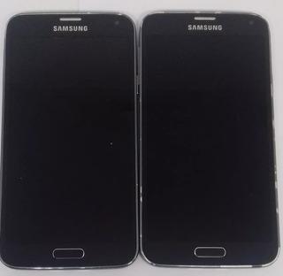 1° Samsung Galaxy S5 G903m Preto Display Inoperante
