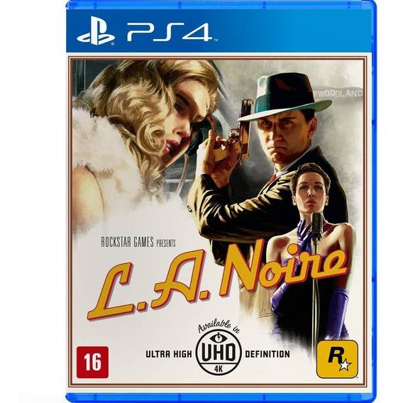 Jogo L. A. Noire Ps4 Mídia Física Game Original Novo Barato