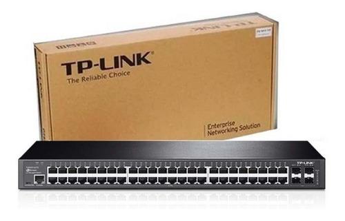 Switch Tp-link T2600g-52ts L2 Giga 48 Portas+4 Sfp Tl-sg3452