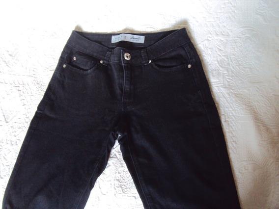 Calça Jeans Preta Denim Co. Tamanho 36