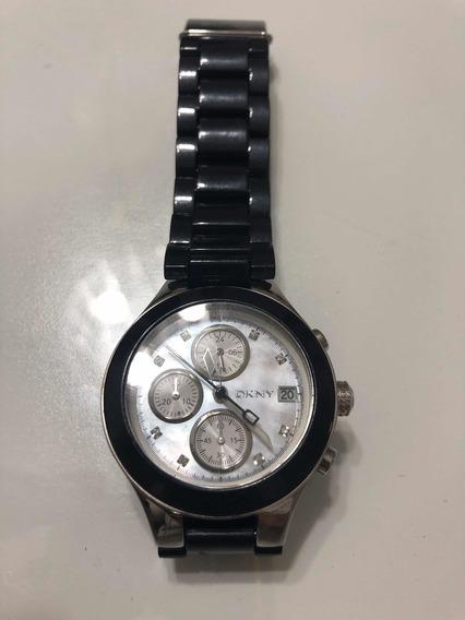 Relógio Dkny Ny8064 Preto 39mm