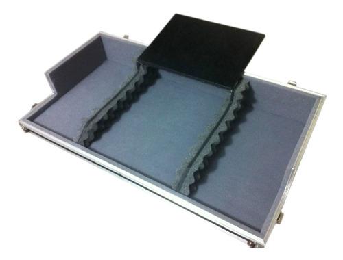 Imagem 1 de 5 de Hard Case 02 Cdj + Mixer Vmx1000 Plataforma Suporte Notebook
