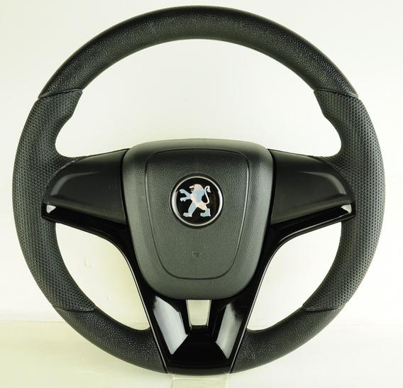 Volante Esportivo Com Cubo Peugeot 106 206 207 306 Preto