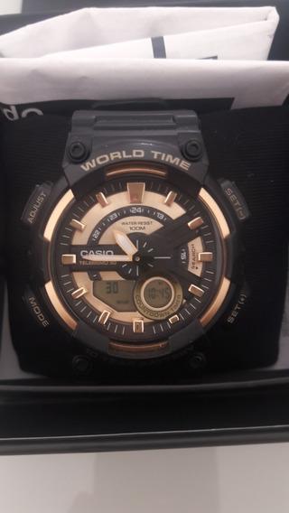 Super Promoção : Relógio Casio World Time