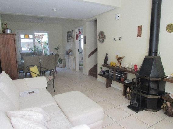 Casa De 3 Dormitórios Com Garagem Em Condomínio Fechado À Venda, 162 M² No Bairro Ipanema - Porto Alegre/rs - Ca0368
