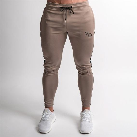 Pants Jogger Fitness Varios Colores Logotipo Bordado