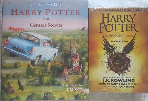 H. Potter E A Câmara Secreta + Criança Amaldiçoada Capa Dura