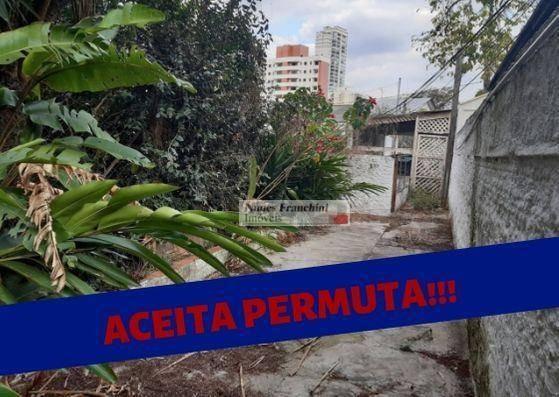 Santana -zn/sp - Terreno À Venda, 448 M² Por R$ 1.100.000,00 - Te0080