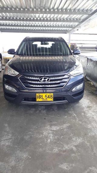 Hyundai Santafe Limited 4x4 Hrl548 Azul