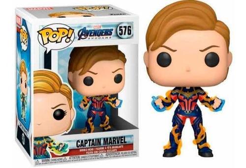 Funko Pop Captain Marvel (new Hair) Endgame