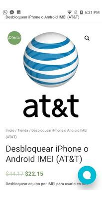 Desbloqueo De Fabrica Vía Imei iPhone & Samsung