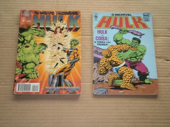 Hulk Anos 80 E 90 Antigos E Raros