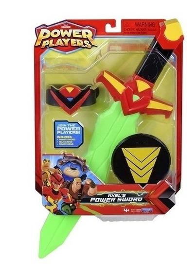 Brinquedo Power Players - Espada Do Poder Do Axel - Sunny