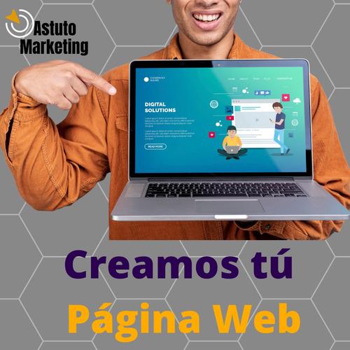 Diseño De Paginas Web + Dominio + Hosting + Certificado Ssl