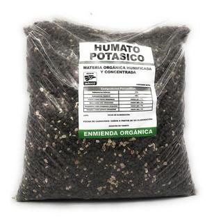 Abono Orgánico Humato Potásico 5 Kg Fertilizante Natural