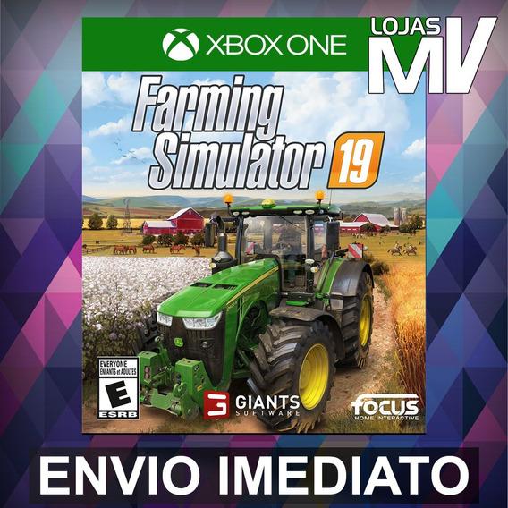Farming Simulator 19 Código 25 Digitos Xbox One Br