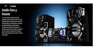 Equipo De Sonido Panasonic Sc-akx660ppnk