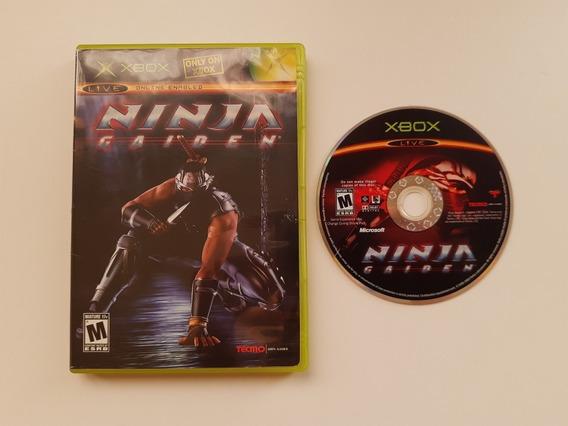 Ninja Gaiden Xbox Americano Original Na Caixa Com Encarte!!