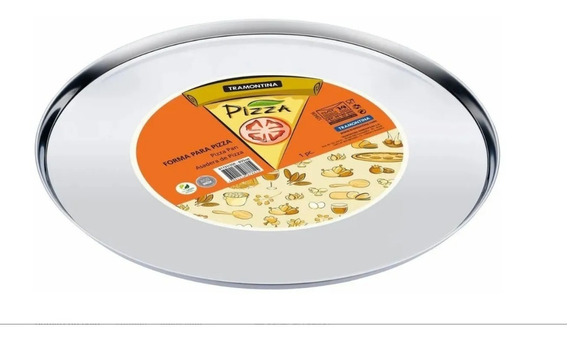 Pizzera Acero Inoxidable Tramontina 35mm