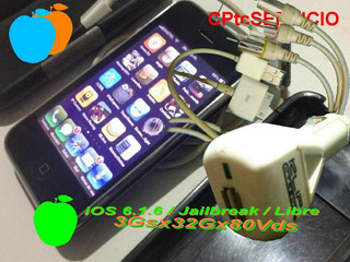 iPhone 3gs 32gbs Liberado, Jailbreak, Impecable.