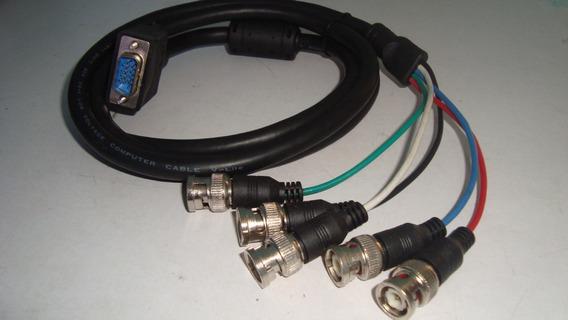 Cable Vga A Bnc Para Dvr Camaras Vigilancia