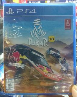 Dakar 18 Ps4 Playstation Nuevo Sellado Oferta!!