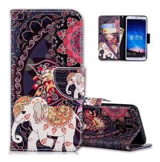 Huawei Mate Lite Funda Cotdinforca Rainforest Flamingo...
