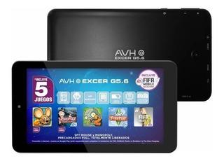 Tablet Avh Excer G5.6 Kids 16gb 7´ Wifi Bluetooth Camara 2mp