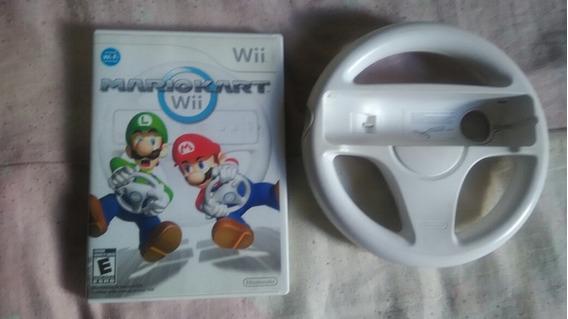 Mario Kart Nintendo Wii Com Volante