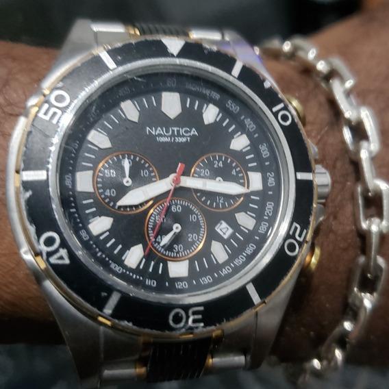 Relógio Nautica Original Usado
