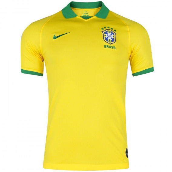 Camisa Seleção Brasileira 2019 Oficial Lançamento Preço Bom