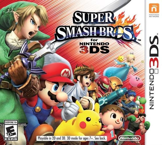 Super Smash Bros - Semi Novo - Nintendo 3ds - Gamercado