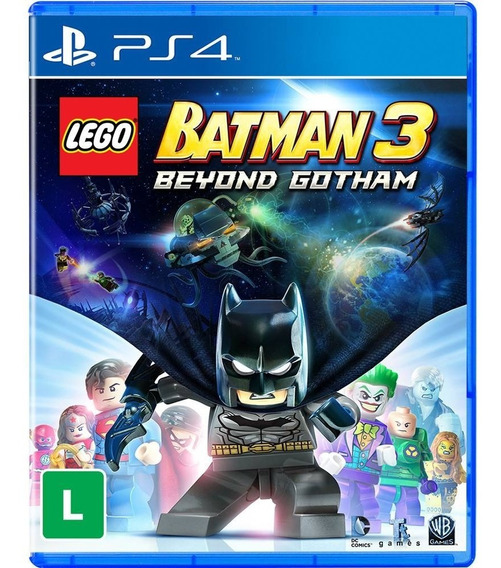 Lego Batman 3 (mídia Física 100% Em Português) - Ps4 (novo)