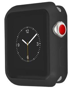 Capa Em Gel Para Apple Watch 38mm 1-2-3 - Preta