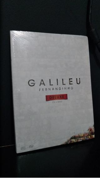 Galileu Deluxe Dvd + Cd - Fernandinho