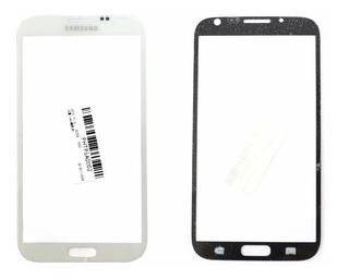 Vidro Tela Frontal Samsung Note 2 Branco Tela 5.5 Sem Touch