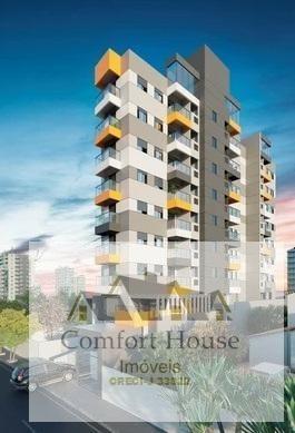 Apartamento Para Venda Em Santo André, Jardim Bela Vista, 2 Dormitórios, 1 Suíte, 2 Banheiros, 1 Vaga - 00492b_1-1728502