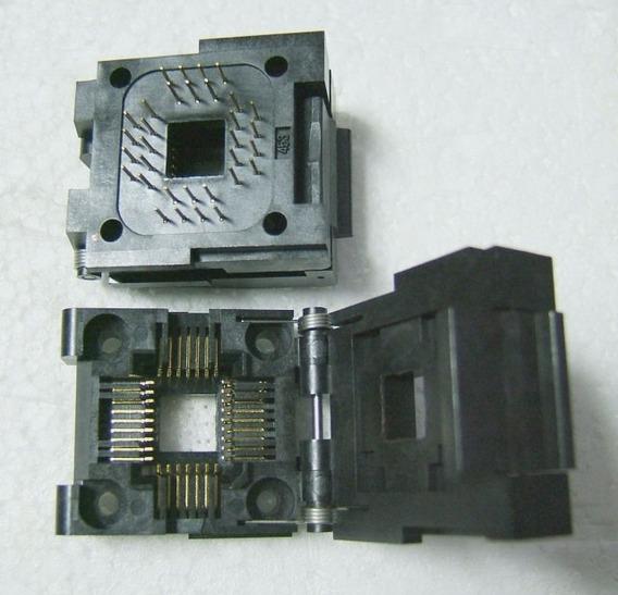 Socket Testador Textool Ic51-0324-453 Yamaichi Qpf44 Plcc 32