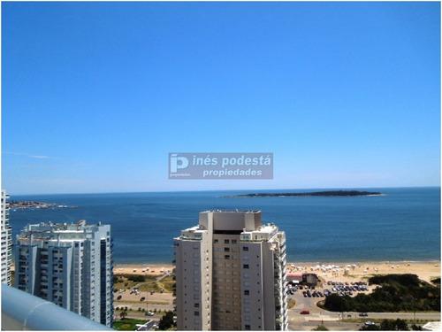 Apartamento En Venta, Mansa, Punta Del Este, 3 Dormitorios.- Ref: 7376