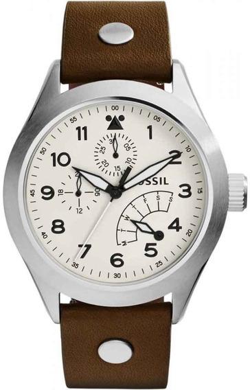 Relógio Fossil Aeroflite Ch2938/2xn *multi Calendário