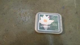 Pack Com 5 Cartão De Memória Kingston 256mb Compact Flash.