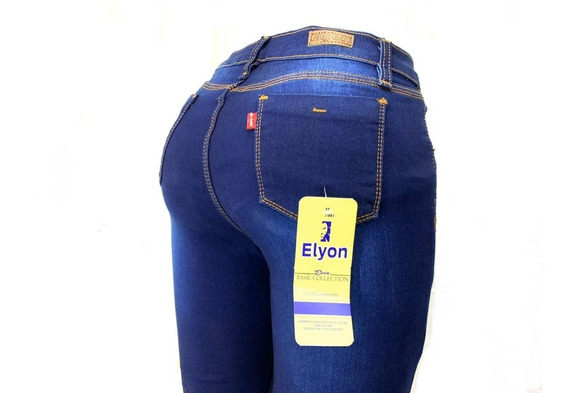 Jeans Pantalón De Mujer Mezclilla Strech