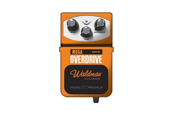 Waldman Mov-3r Mega Overdrive Pedal Para Guitarra