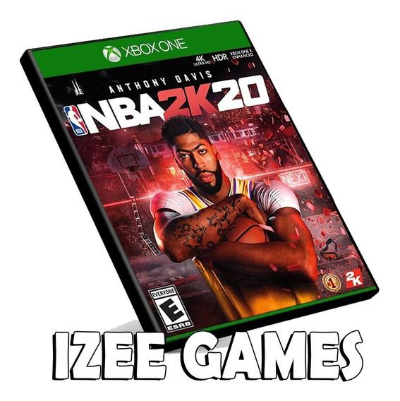 Nba 2k20 Xbox One Midia Digital + 1 Jogo Grátis