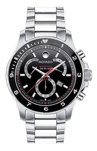 Relógio Movado Série 800 260090 Lindo! 42mm