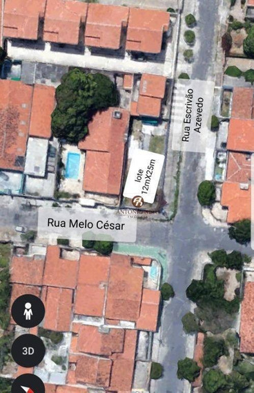 Terreno À Venda, 300 M² Por R$ 299.000,00 - Cidade Dos Funcionários - Fortaleza/ce - Te0010