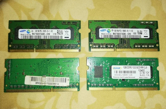 Memoria Ram 1gb Ddr3 10600 Laptop Y C.a.n.a.i.m.a